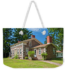 Weekender Tote Bag featuring the photograph Babcock House Museum 2250 by Guy Whiteley