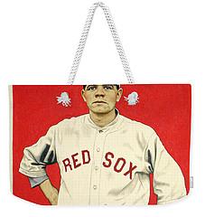 Babe Ruth Cracker Jack Card Weekender Tote Bag