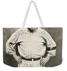 Babe Ruth Portrait Weekender Tote Bag