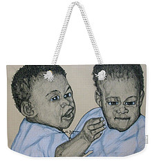 Babies Weekender Tote Bag