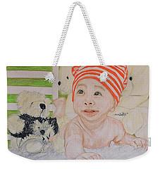 Baby And Stuff Bears Weekender Tote Bag