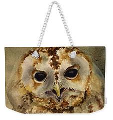 Baby Barred Owl Weekender Tote Bag