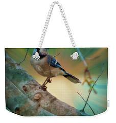 Baby Blue Weekender Tote Bag by Trish Tritz