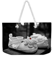 Baby Bootie Bug - Red Weekender Tote Bag