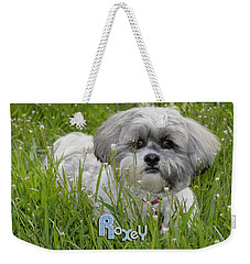 Weekender Tote Bag featuring the photograph Baby Breath Tote by Arthur Fix