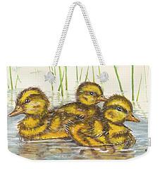 Baby Ducks For Ma Weekender Tote Bag