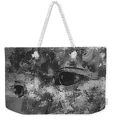 Baby Eyes, Black And White Weekender Tote Bag