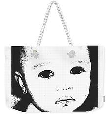 Baby Face 2 Weekender Tote Bag
