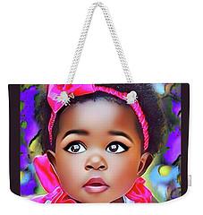 Baby Girl Weekender Tote Bag
