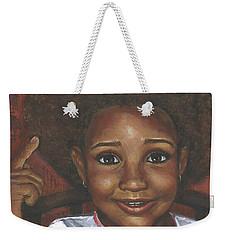 Baby Girl's Afro Weekender Tote Bag