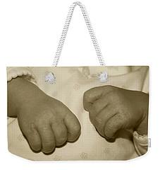 Baby Hands Weekender Tote Bag