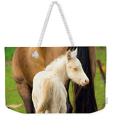 Baby Horse By Mom Weekender Tote Bag