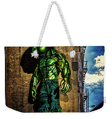 Weekender Tote Bag featuring the photograph Baby Hulk by Chris Lord