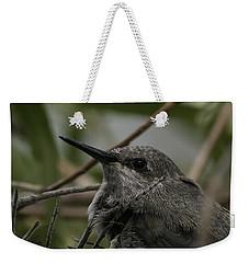 Baby Humming Bird Weekender Tote Bag