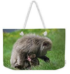 Baby Monkey Weekender Tote Bag
