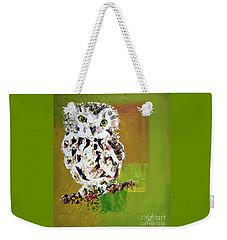Baby Owl Weekender Tote Bag