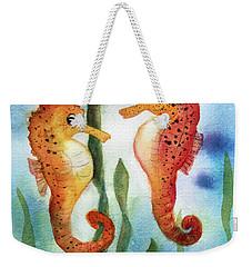 Baby Seahorses Weekender Tote Bag