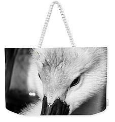 Baby Swan Headshot Weekender Tote Bag