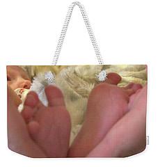 Baby Toes Weekender Tote Bag
