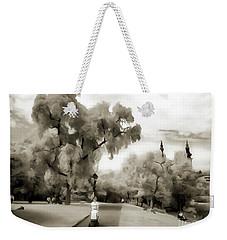 Baby Walker Woman In The Park Weekender Tote Bag by Odon Czintos