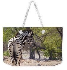 Baby Zebra Weekender Tote Bag