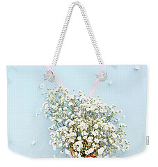 Baby's Breath Ice Cream Cone Weekender Tote Bag