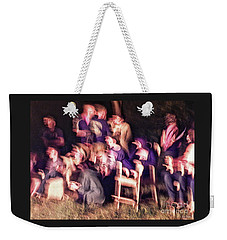 Bacchanalian Freak Show With Hieronymus Bosch Treatment Weekender Tote Bag