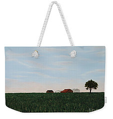 Back 40 Weekender Tote Bag by Billinda Brandli DeVillez