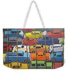 Back And Forth Weekender Tote Bag by Glenn Quist