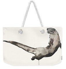 Back Awash   Otter Weekender Tote Bag