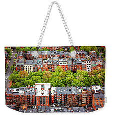 Weekender Tote Bag featuring the photograph Back Bay Boston  by Carol Japp