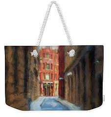 Back Bay Boston Weekender Tote Bag