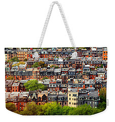 Back Bay Weekender Tote Bag by Rick Berk