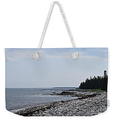 Back Beach Weekender Tote Bag