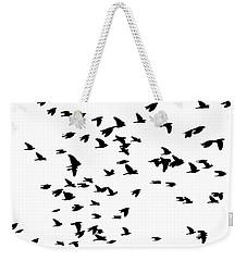 Back Birds In Flight Weekender Tote Bag