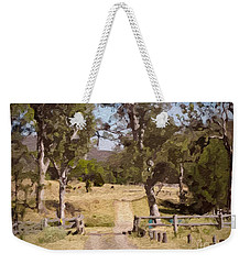 Back Country Farm Track Weekender Tote Bag