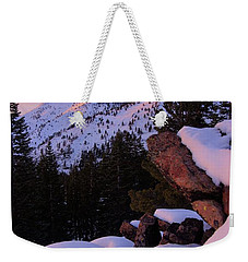 Back Country Glow Weekender Tote Bag by Sean Sarsfield