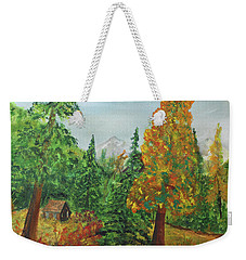 Back Country Place Weekender Tote Bag