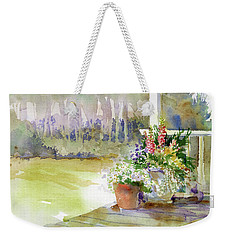 Back Deck Weekender Tote Bag