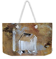 Weekender Tote Bag featuring the painting Back In The Day by Judith Rhue