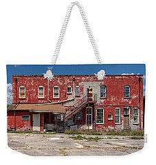 Weekender Tote Bag featuring the photograph Back Lot by Christopher Holmes