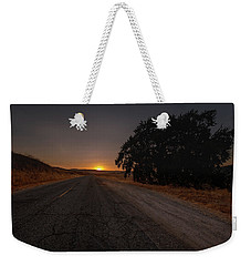 Back Road From Bradley Weekender Tote Bag
