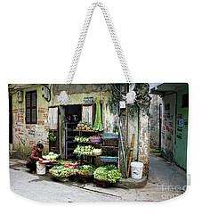 Back Street Veggies Store I Weekender Tote Bag