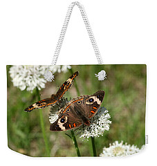 Back To Back Butterflies Weekender Tote Bag