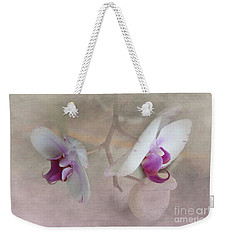 Weekender Tote Bag featuring the photograph Back To Back by Judy Hall-Folde