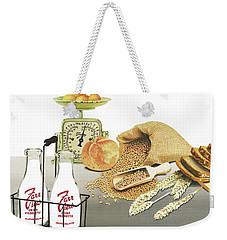Back To Basics Weekender Tote Bag by Ferrel Cordle