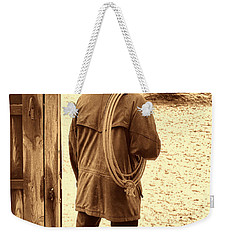 Back To Work Weekender Tote Bag by American West Legend By Olivier Le Queinec