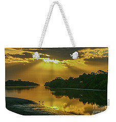 Back Up Reflection Weekender Tote Bag