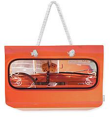 Back Window Weekender Tote Bag