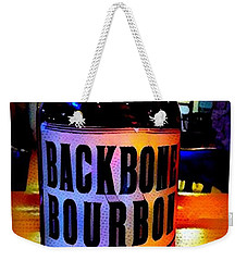 Backbone Bourbon Weekender Tote Bag